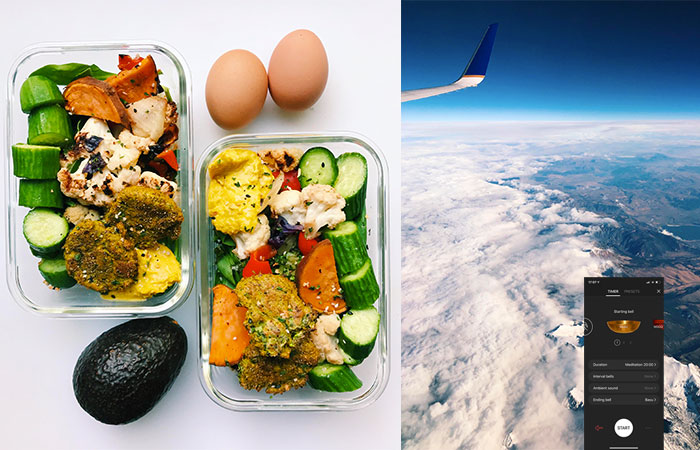 staying healthy when traveling cover