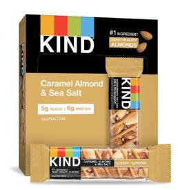 Kind bar caramel almond and sea salt